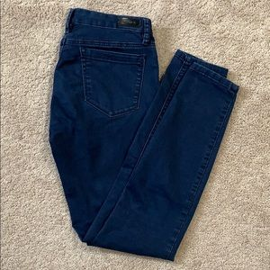 Navy dyed jeans